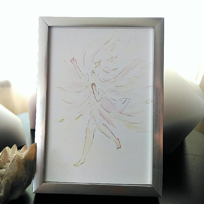 ミニ額「あいのうた」◆複製画