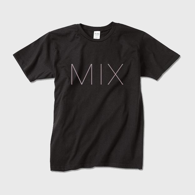 MIXロゴTシャツMブラック - 画像1
