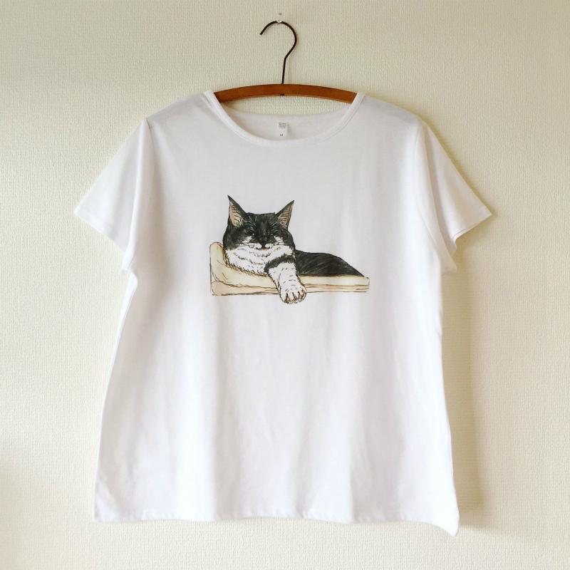 【KORIRI】ペンスケッチTシャツ - まどろむ千葉ちゃん