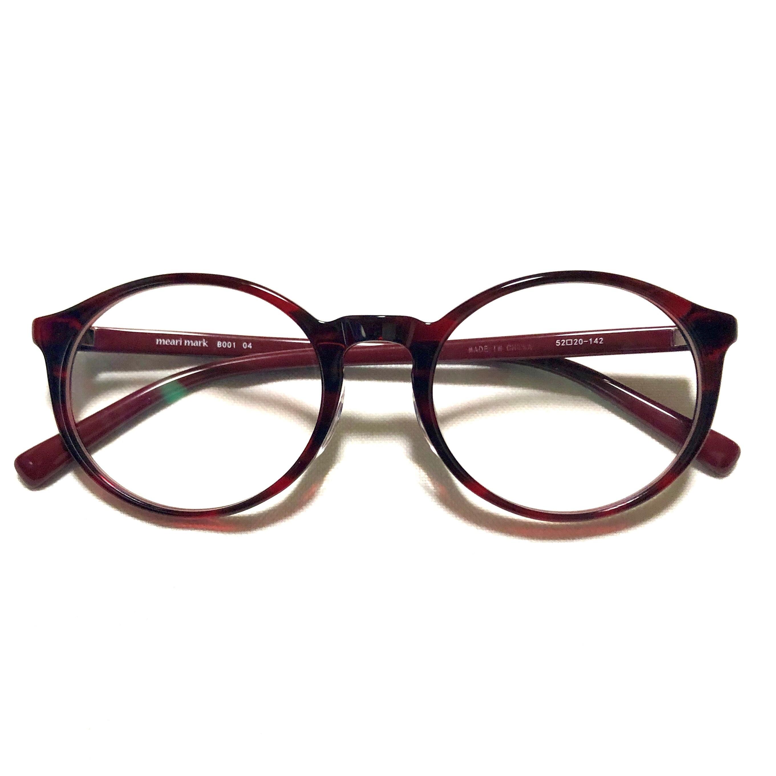 meari mark B001 04 (紫外線カットレンズ付きファッショングラス)