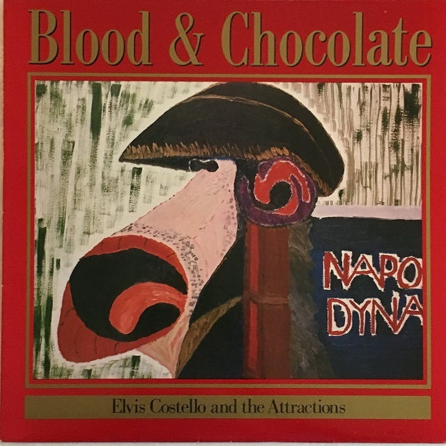 【LP・独盤】Elvis Costello & the Attractions / Blood & Chocolate