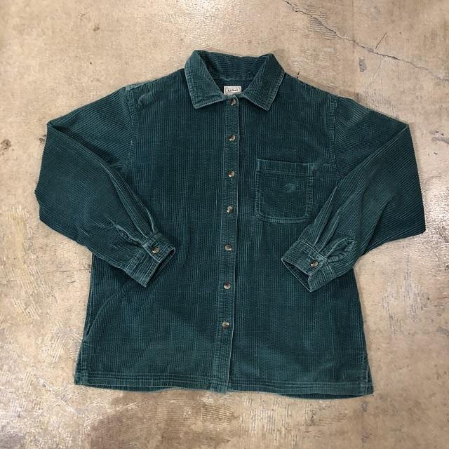 Llbean Corduroy Shirt #TP-557