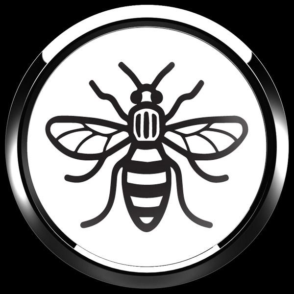ゴーバッジ(ドーム)(CD1091 - MANCHESTER BEE) - 画像3