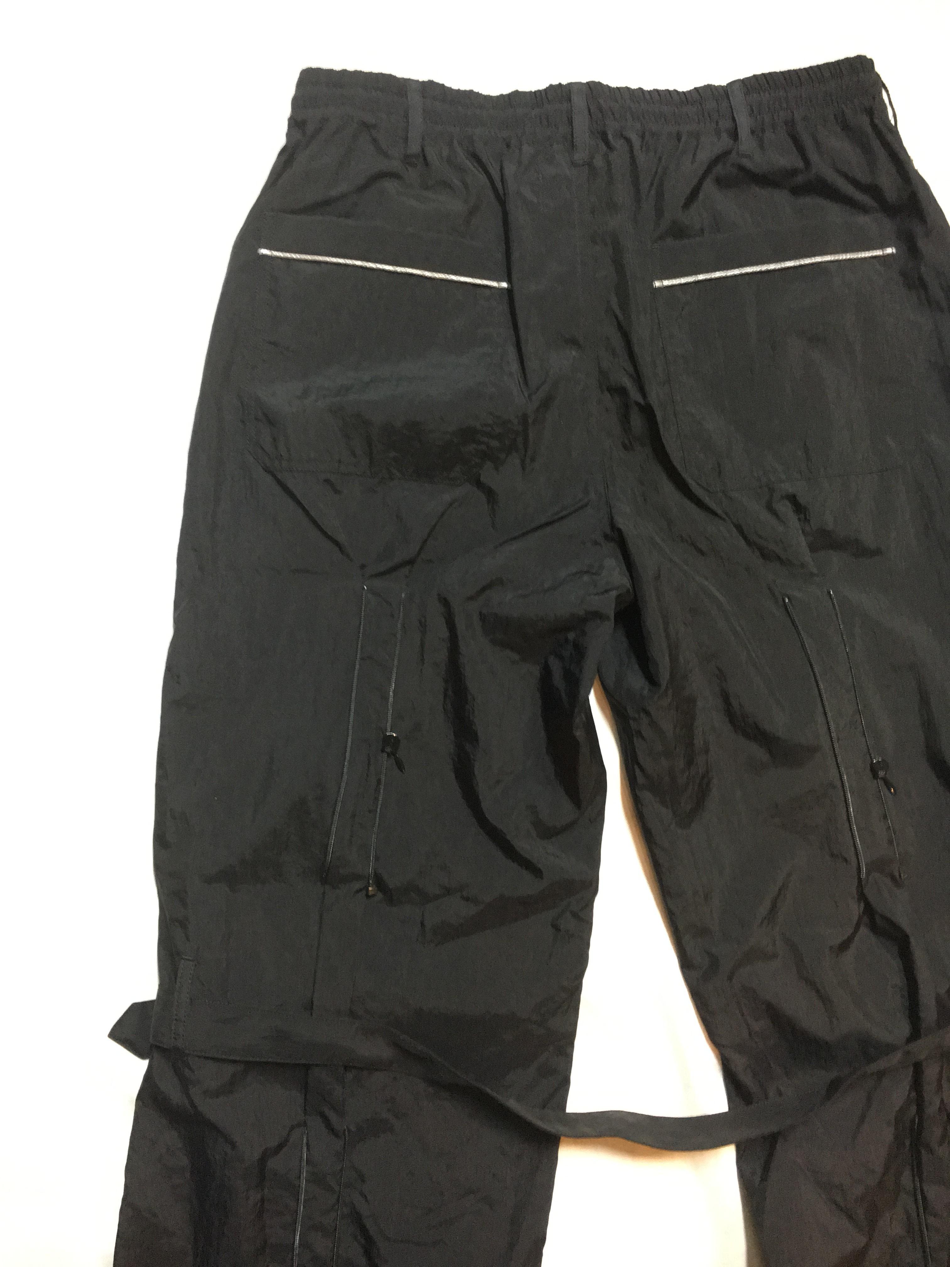 SKIN / nylon bondage pants(blk) - 画像3