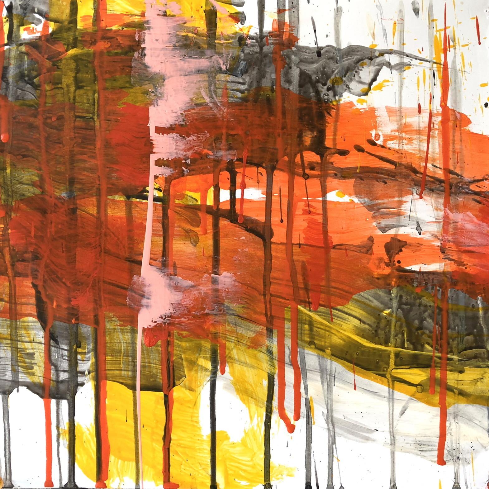 絵画 インテリア アートパネル 雑貨 壁掛け 置物 おしゃれ 抽象画 現代アート ロココロ 画家 : tamajapan 作品 : t-37