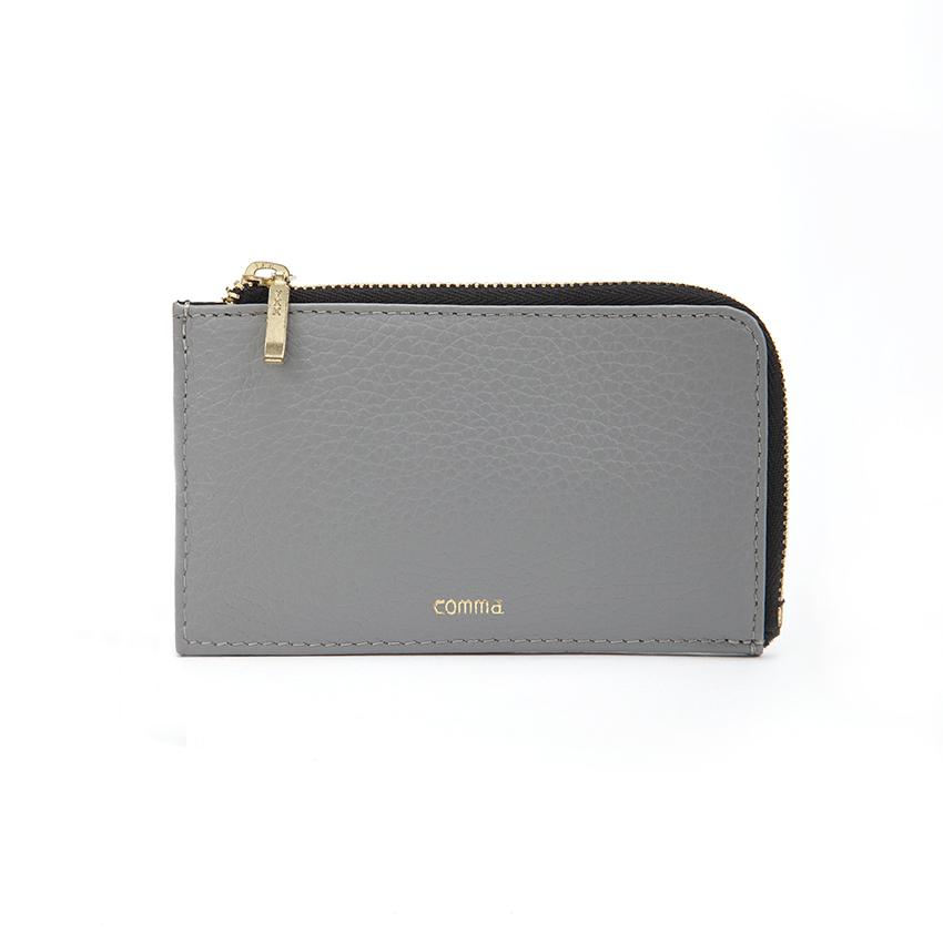 ■Mini Wallet & Pass Case■ミニウォレット&パスケース(グレー)