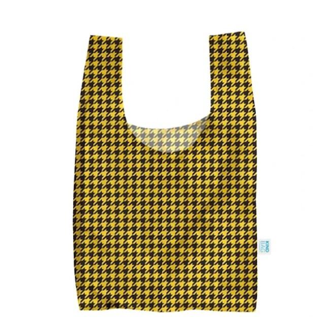 KIND BAG -LONDON- Eco bag Dogtooth エコバッグ M