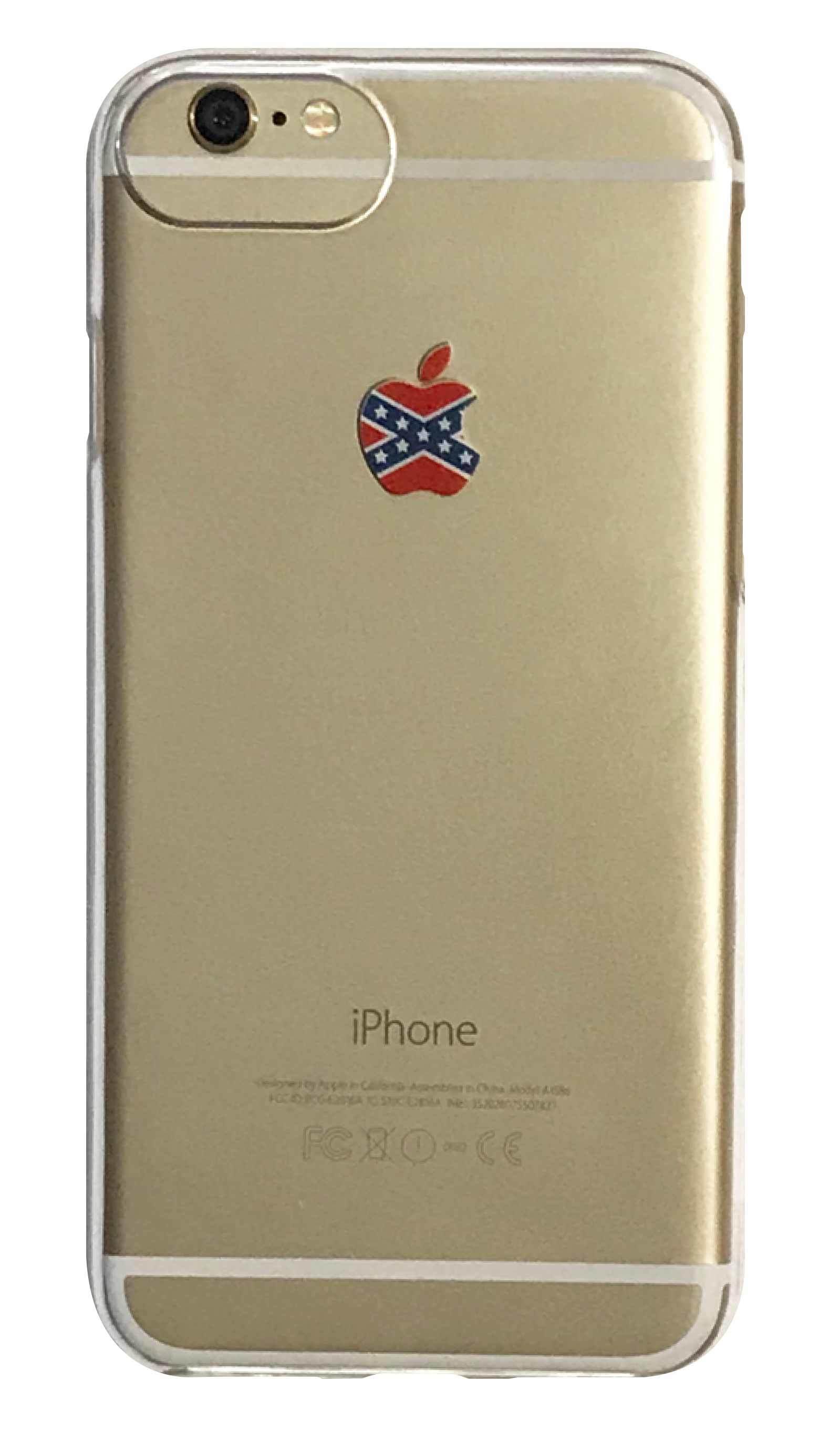 apple X star クリアハードケース