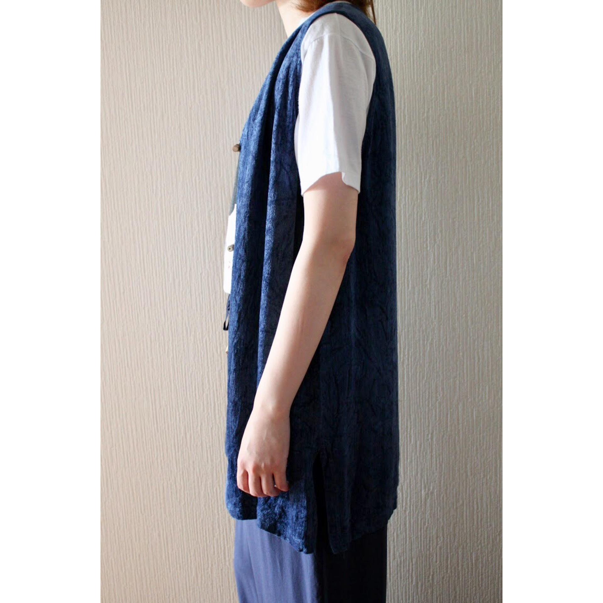 Vintage long vest