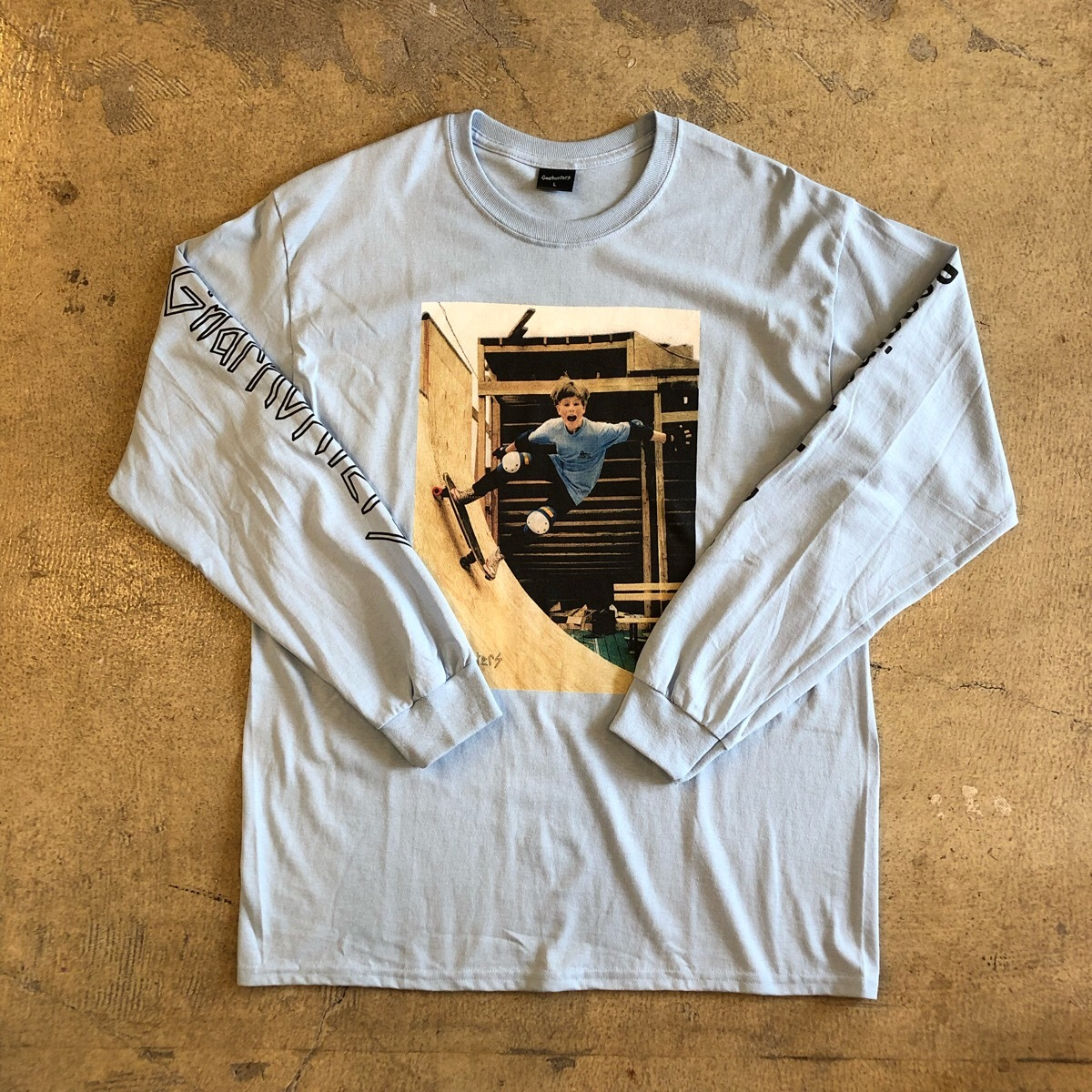 GNARHUNTERS #Begging To Be Rad L/S Tee Rob Welsh
