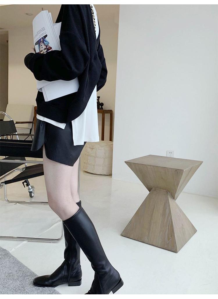 〈カフェシリーズ〉バッククロスプルオーバー【back cross sweater】
