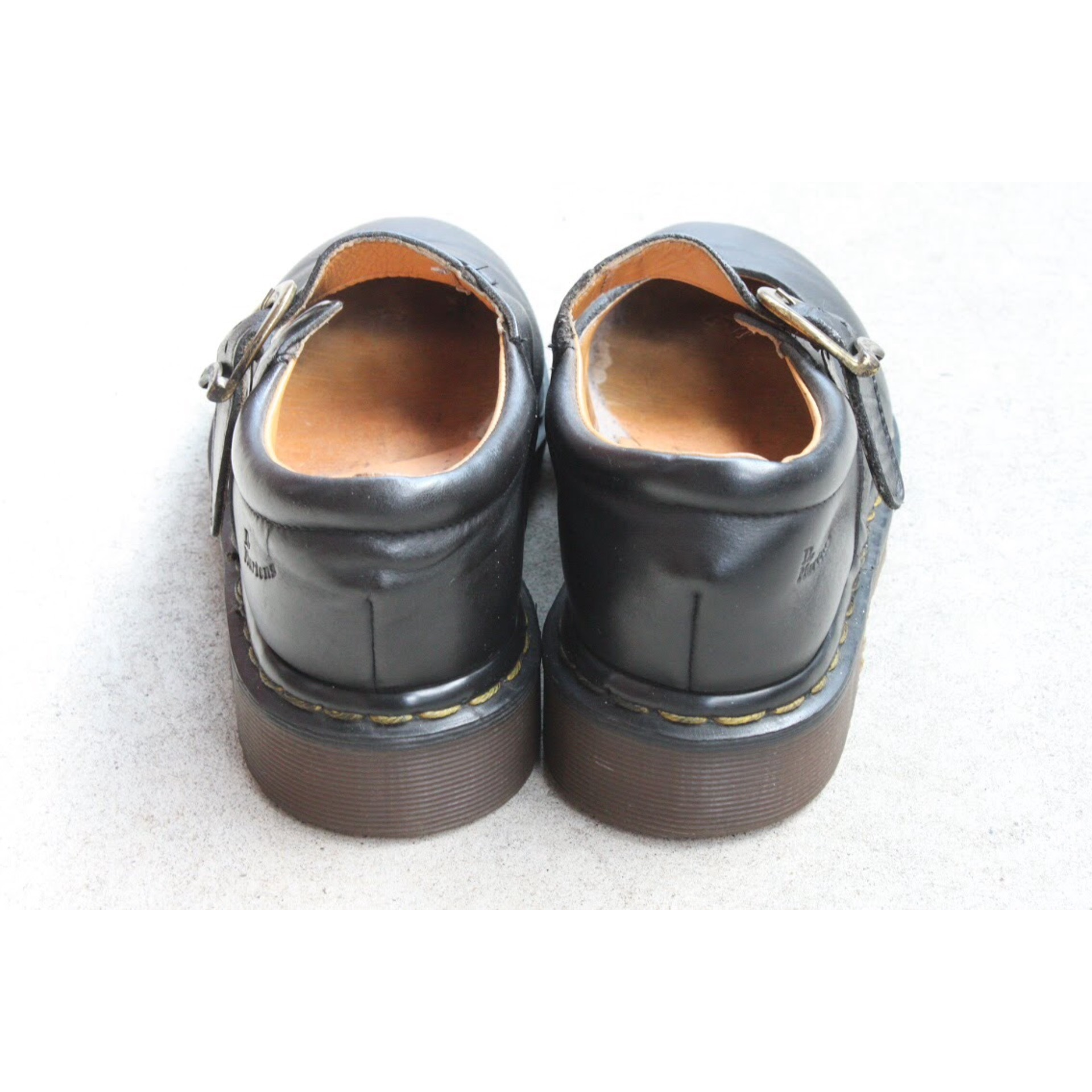 Dr. Martins strap shoes Made in England Size 4