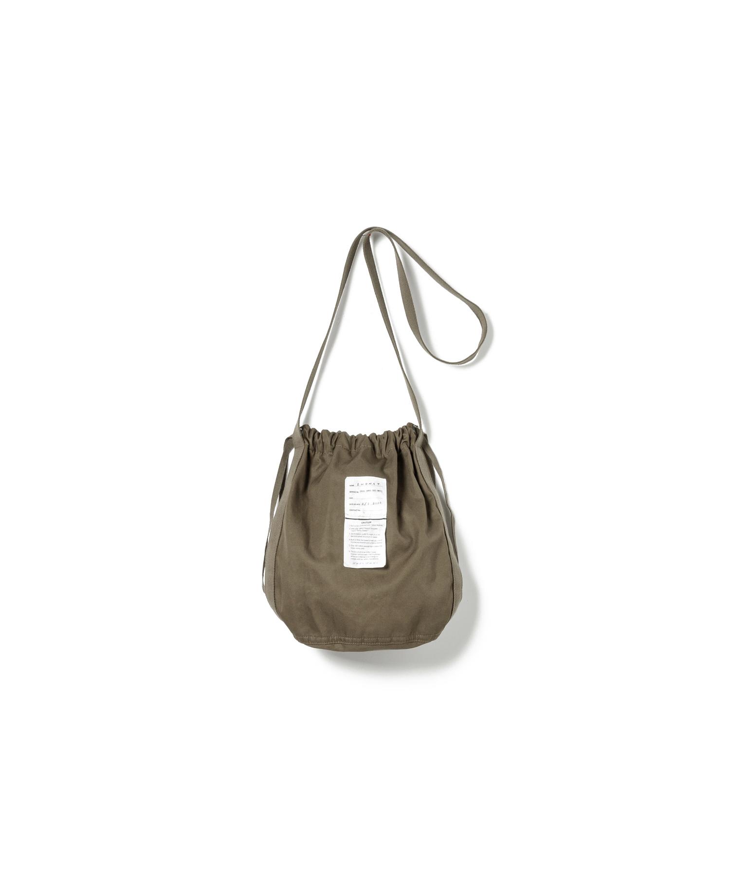 【SANDINISTA】Ventile Drawstring Bag(KHAKI)