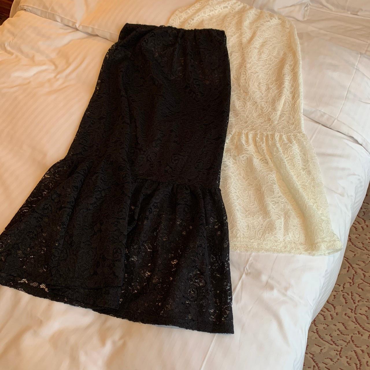 mermaid lace skirt