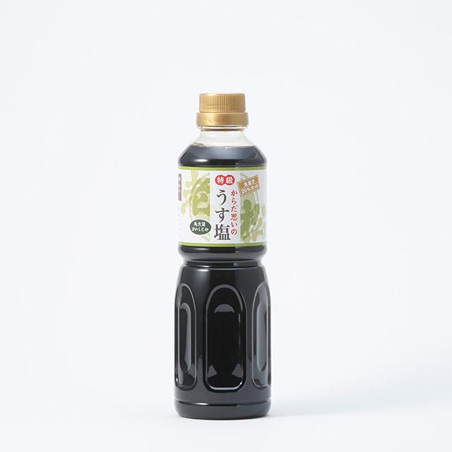 老松 うす塩醤油【500ml】 - 画像1