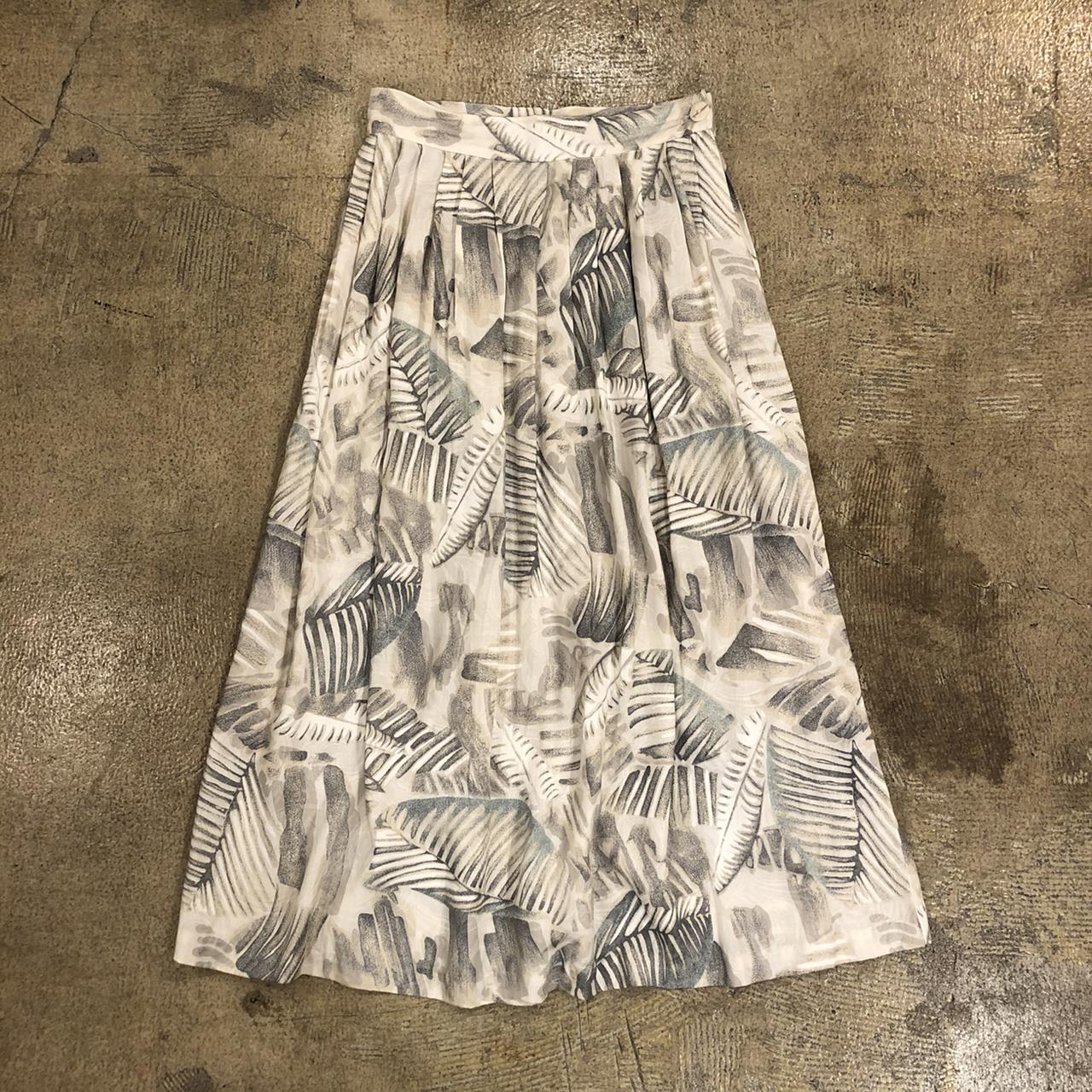 Tjw Botanical Skirt ¥4,600+tax