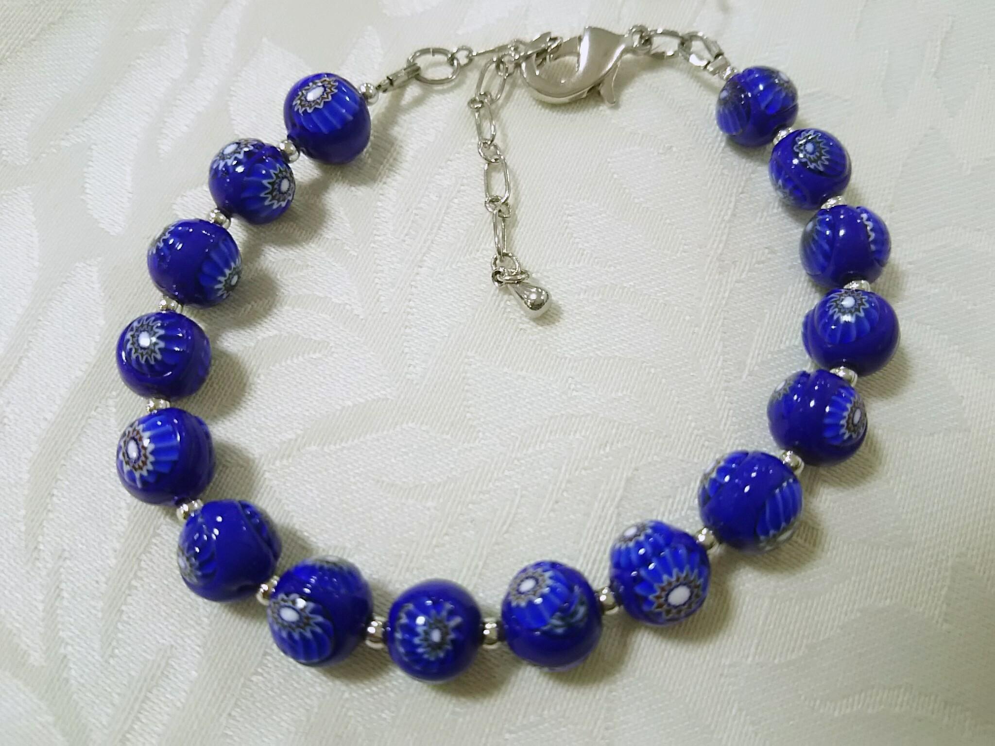 ムリーナのブレスレット ブルー