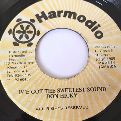 Don Hickey(ドンヒッキー) - I've Got The Sweetest Sound【7'】