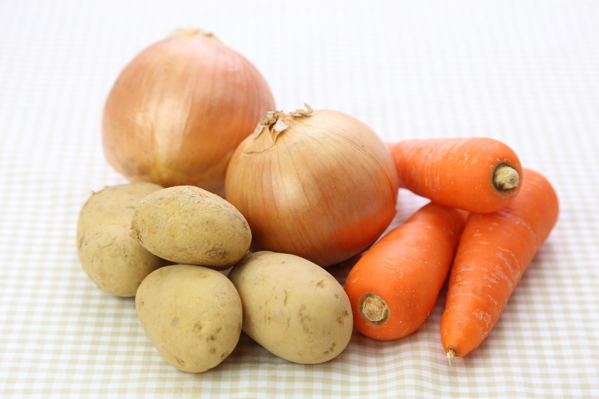 毎週定期便【各500g・Sサイズ】オーガニック根菜セット