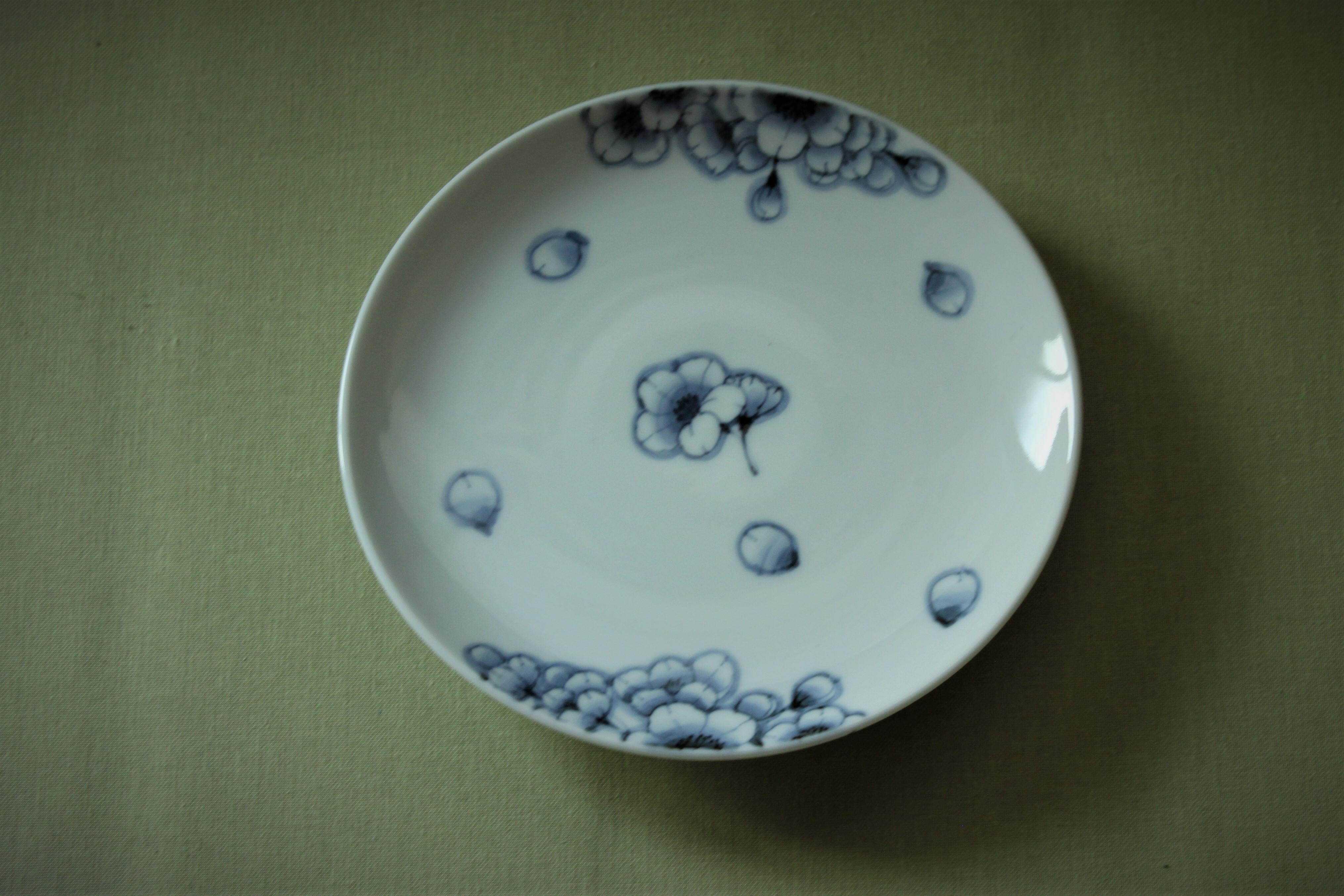 王冠桜平皿