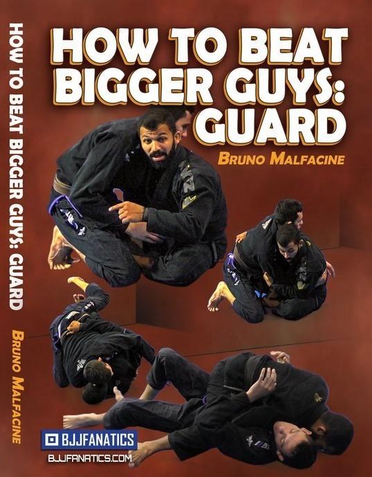 ブルーノ・マルファシーニ 大きい相手を倒す方法 DVD4枚セット|ブラジリアン柔術テクニック教則