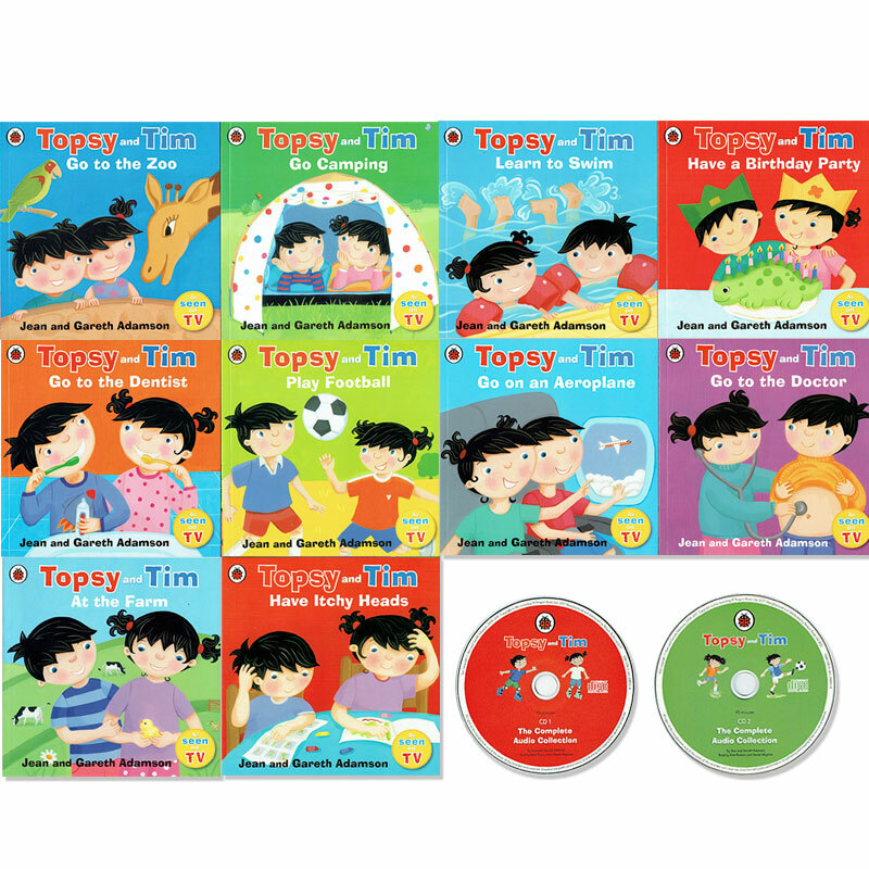 CD付き!「Topsy and Tim」10冊セット