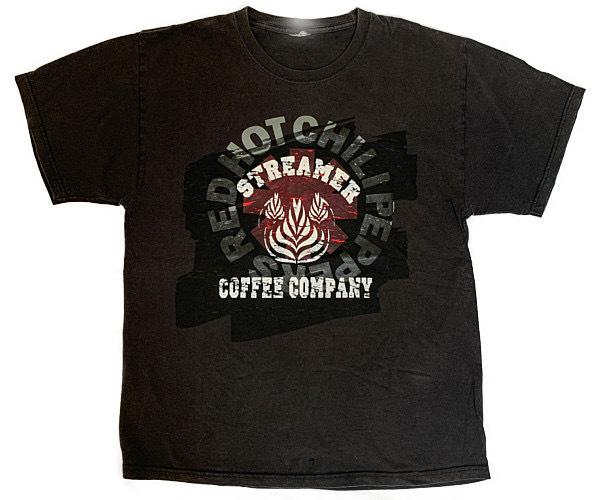 1点もの! ストリーマー VINTAGE REMAKE Tシャツ ブラック Sサイズ VBK-03