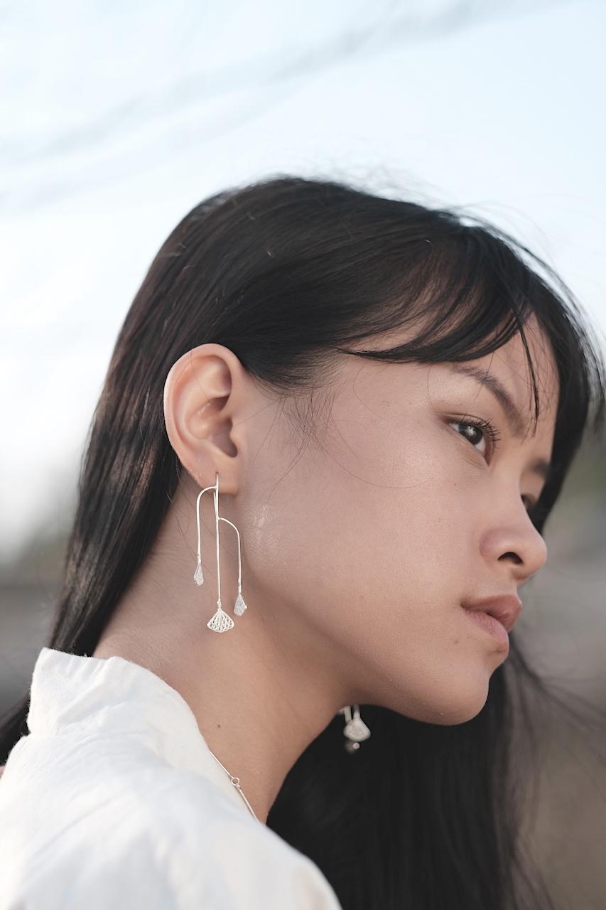 Seri(芹) - Earrings / Silver