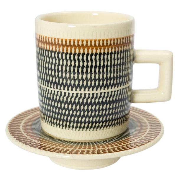 T-kamna コーヒーカップ&ソーサーM ブラック