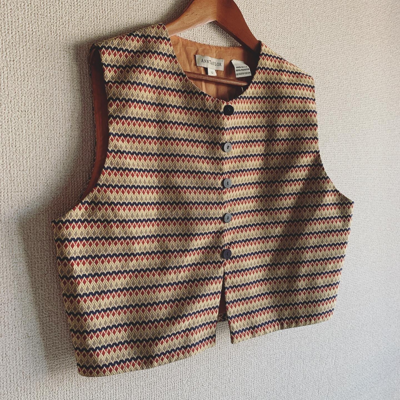 【SALE】vintage USA vest