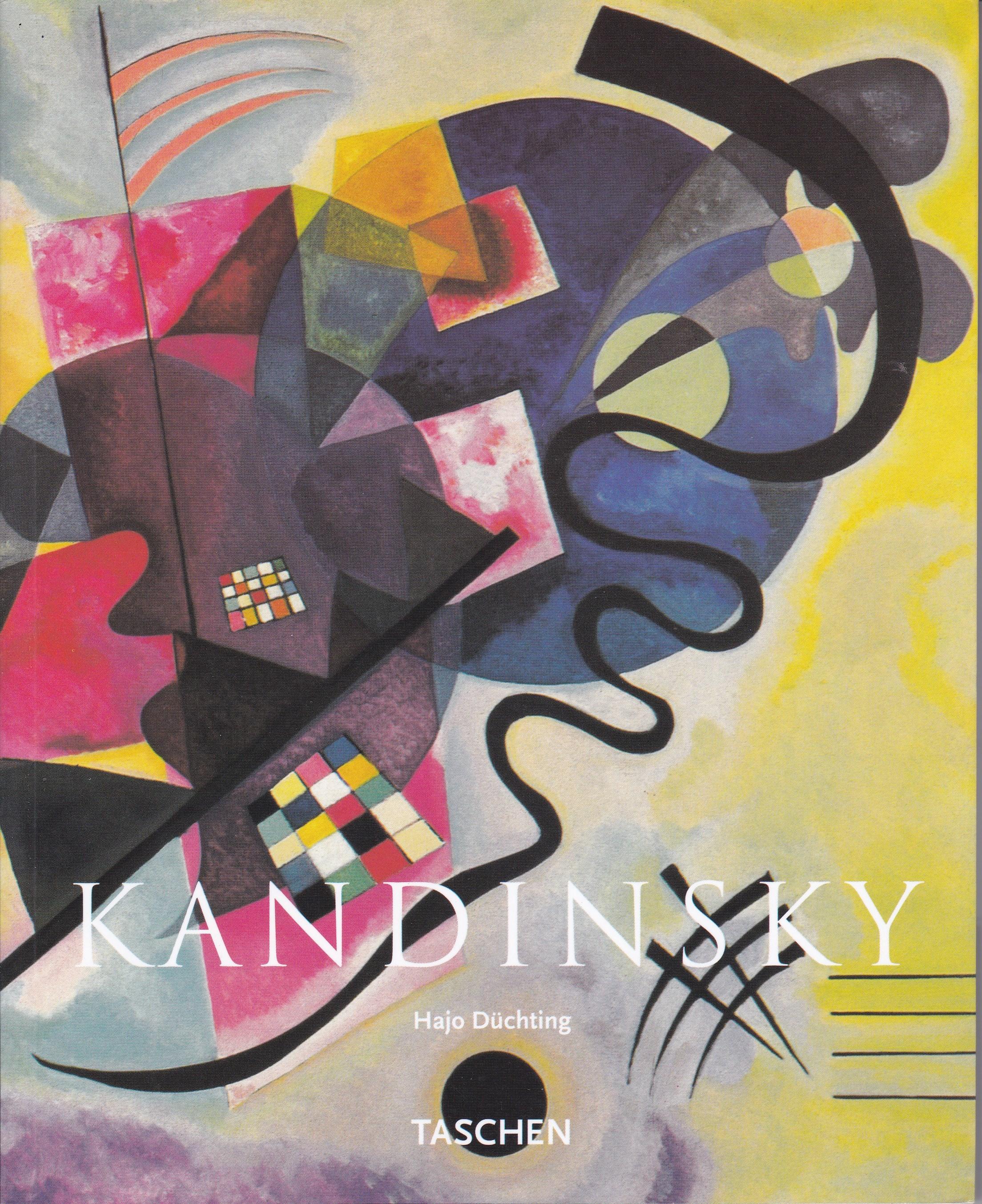 ドイツ語版 TASCHEN「KANDINSKY」 Hajo Duchting