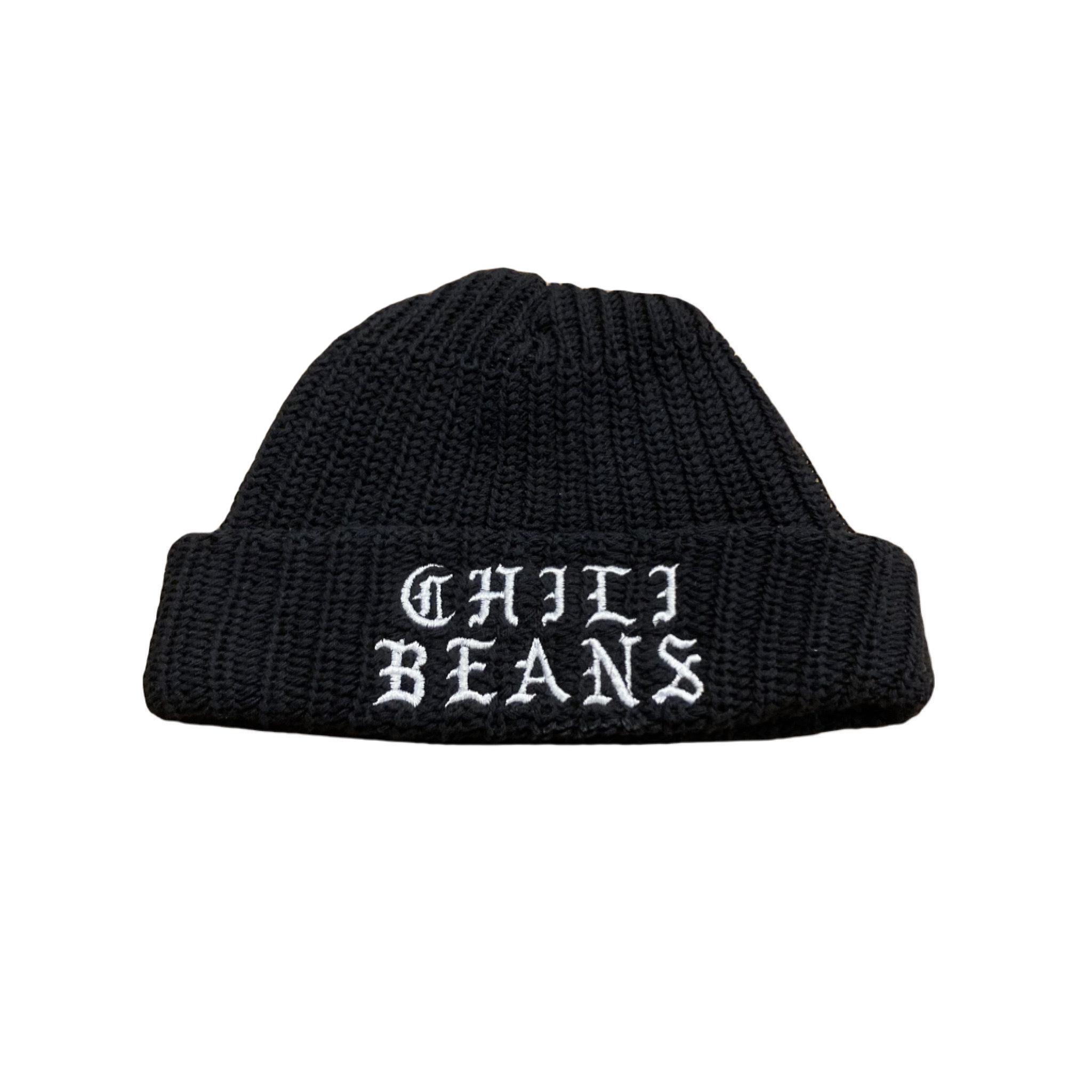 CHILI BEANS #Casual Watch Cap Black