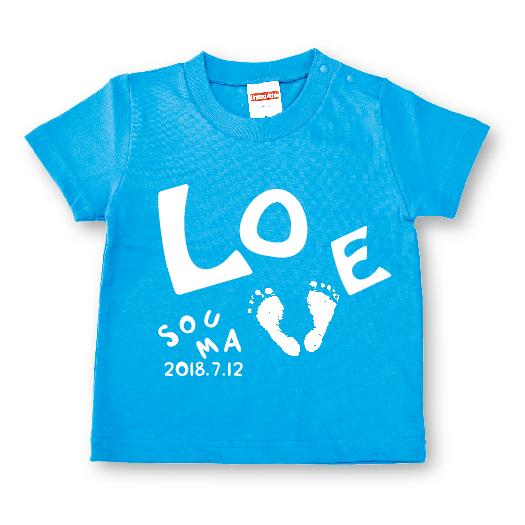 ai-T ashigata【LOVE】ターコイズ