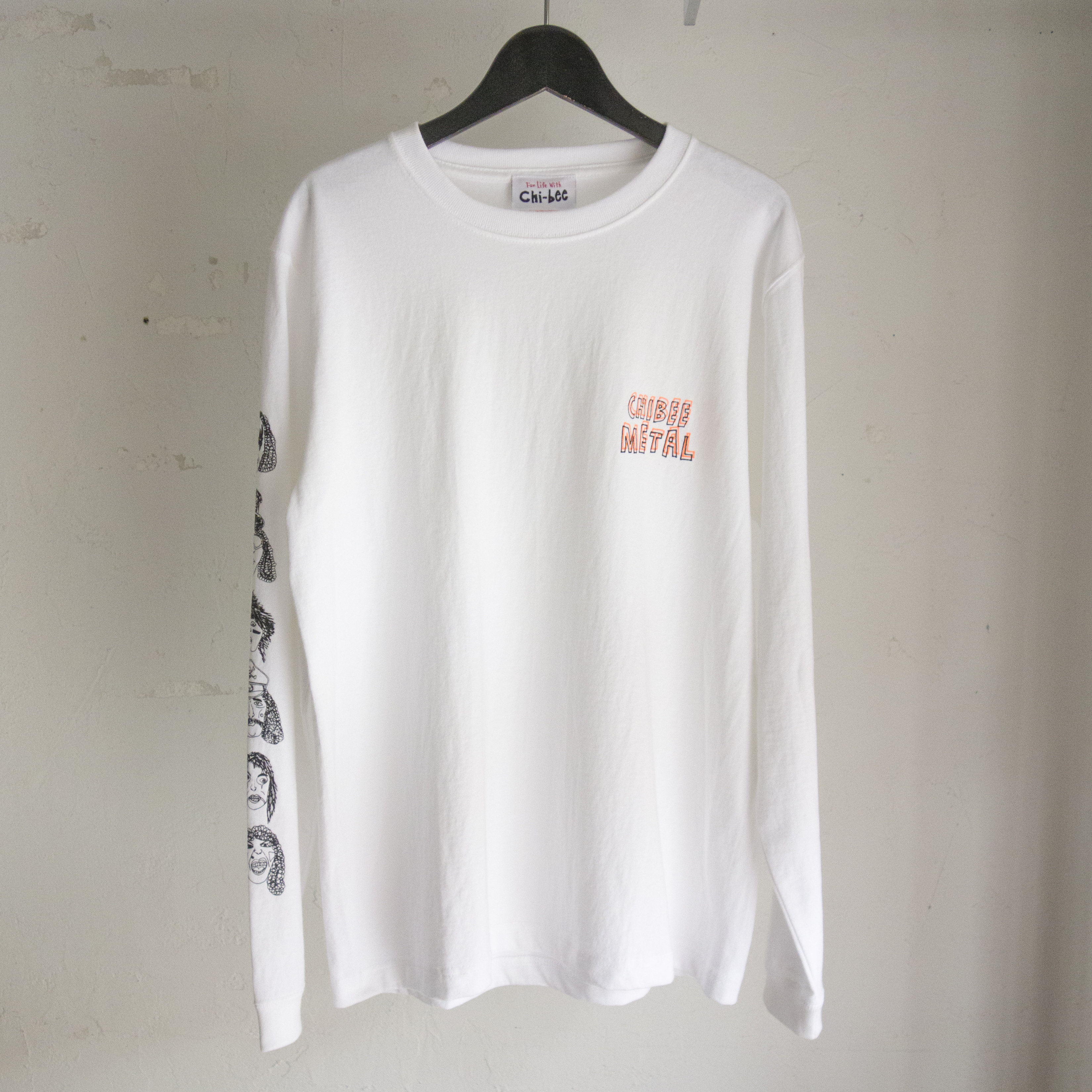 Chi-bee Metal WH long Sleeve