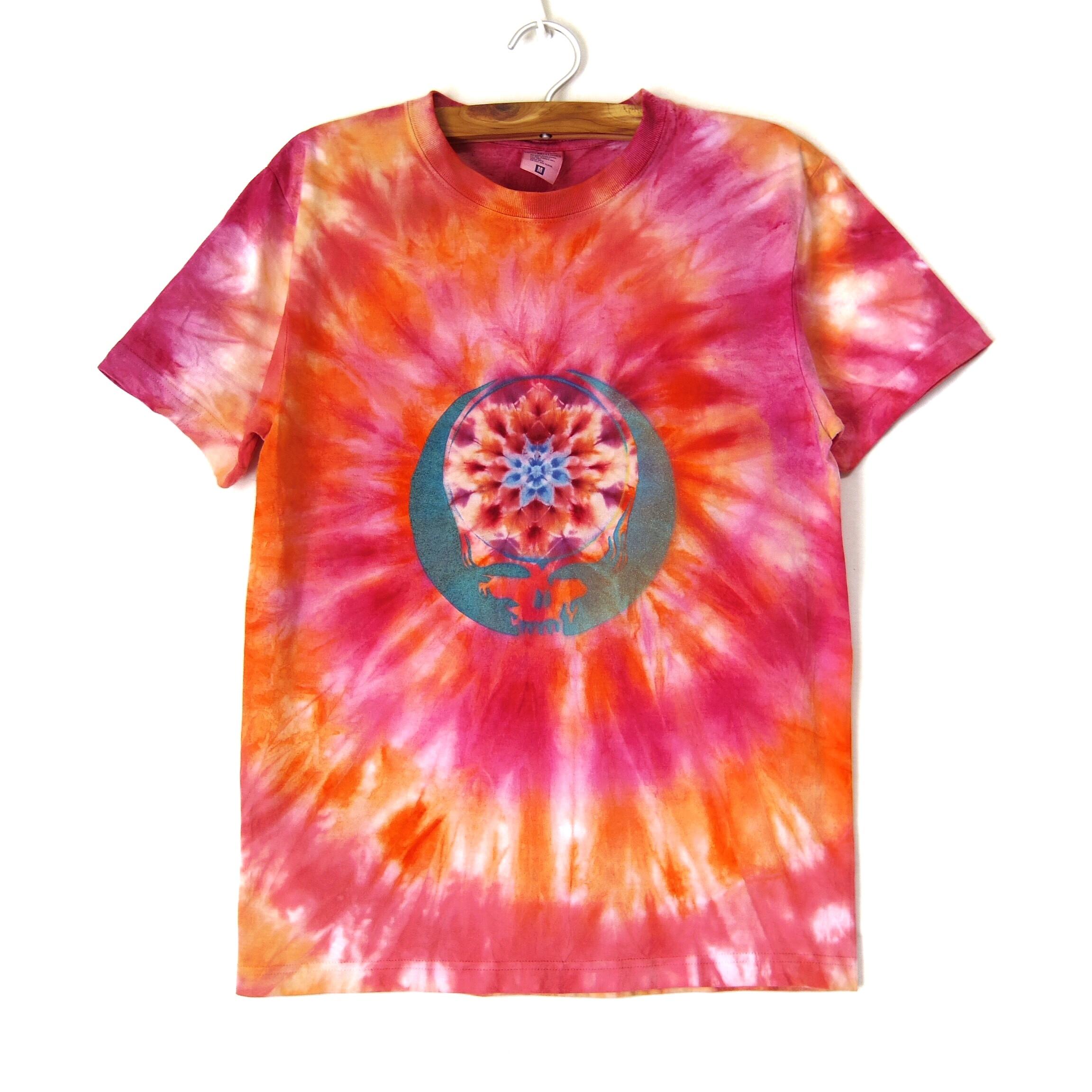 TKHOMEFACTORY × GREATFUL DEAD  Mandala×spiral tiedye T-shirt  M