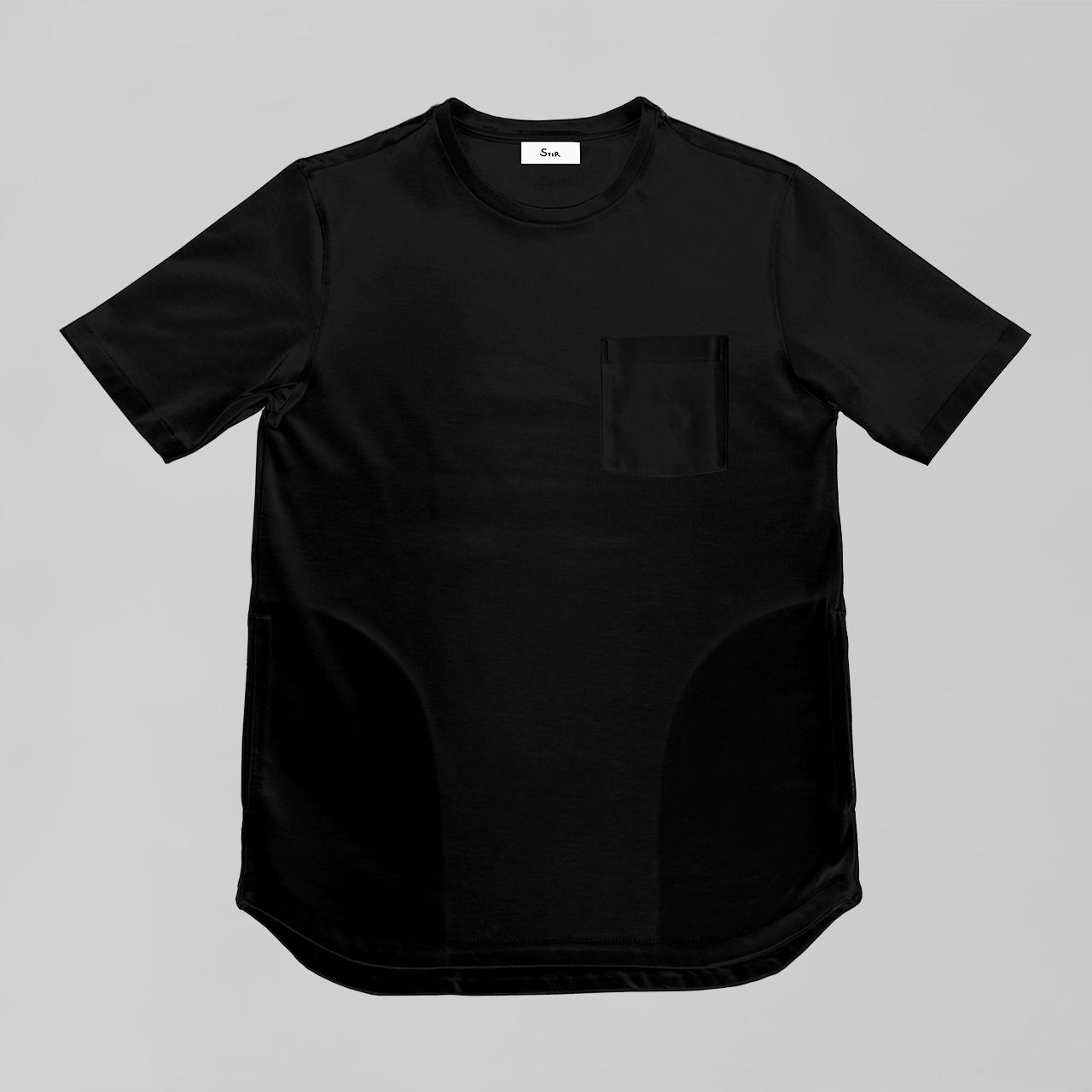 オーセンティックポケットT / Authentic Pocket T #BLACK ※6月末全サイズ再入荷予定