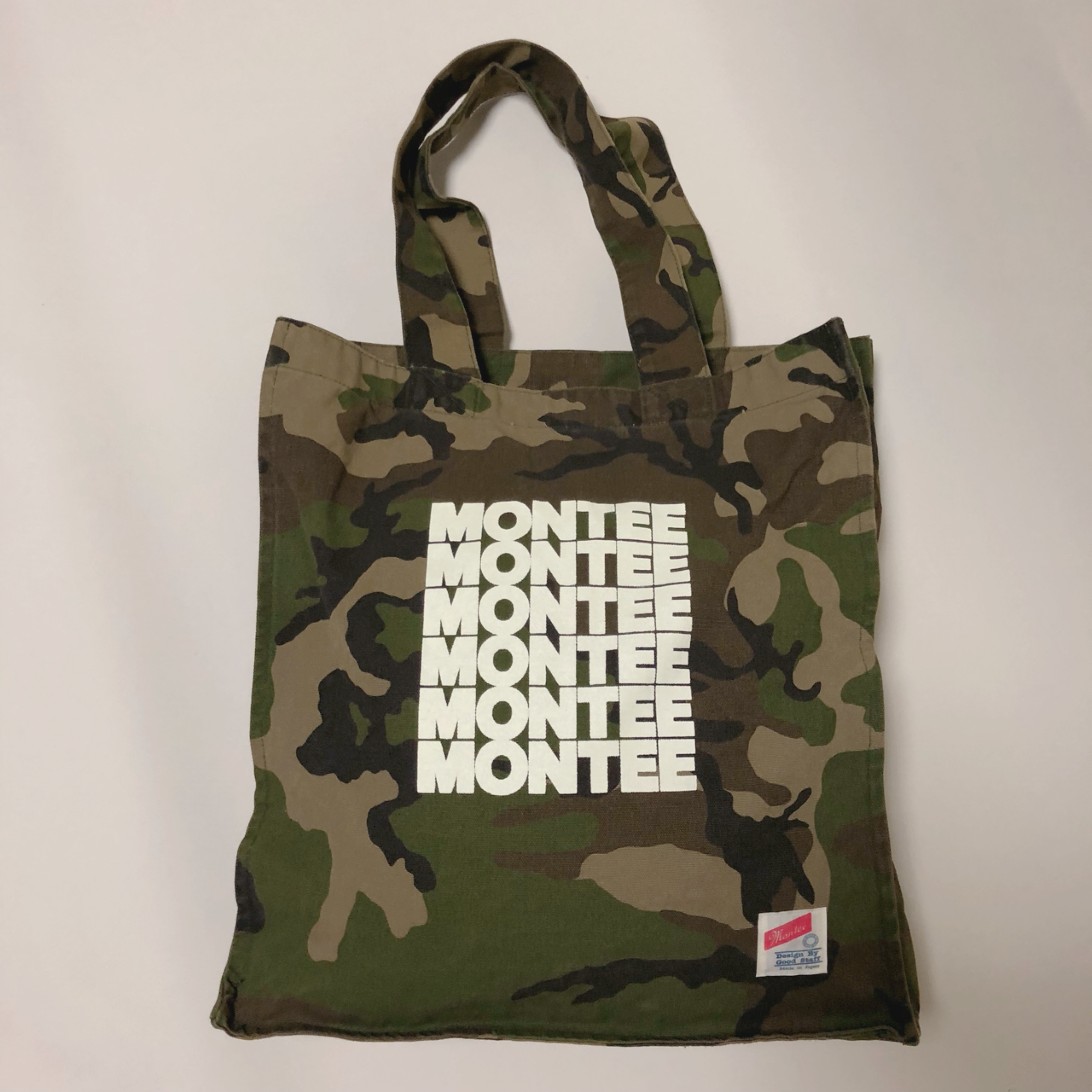 montee square BIG TOTE