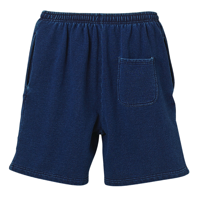 【20% OFF】King Logo Sweat Short Pant / Indigo - 画像5