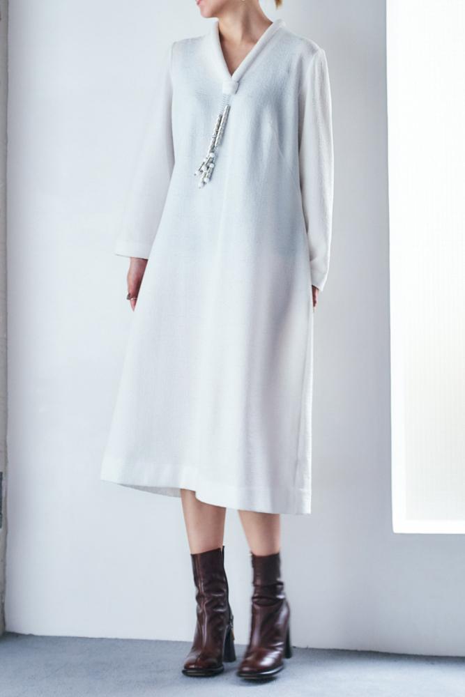 70's Decorative metal motif Dress