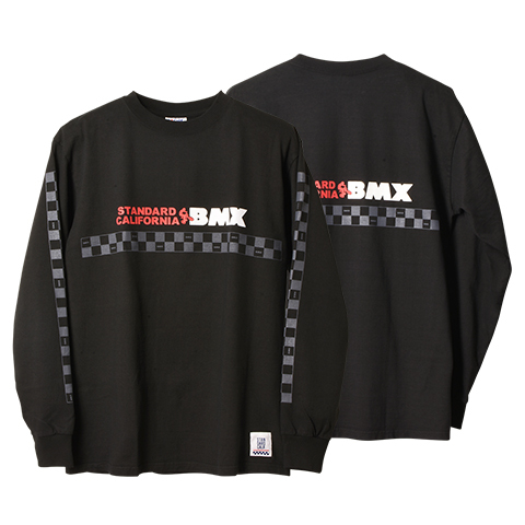 STANDARD CALIFORNIA #SD Heavyweight BMX Logo Long Sleeve T