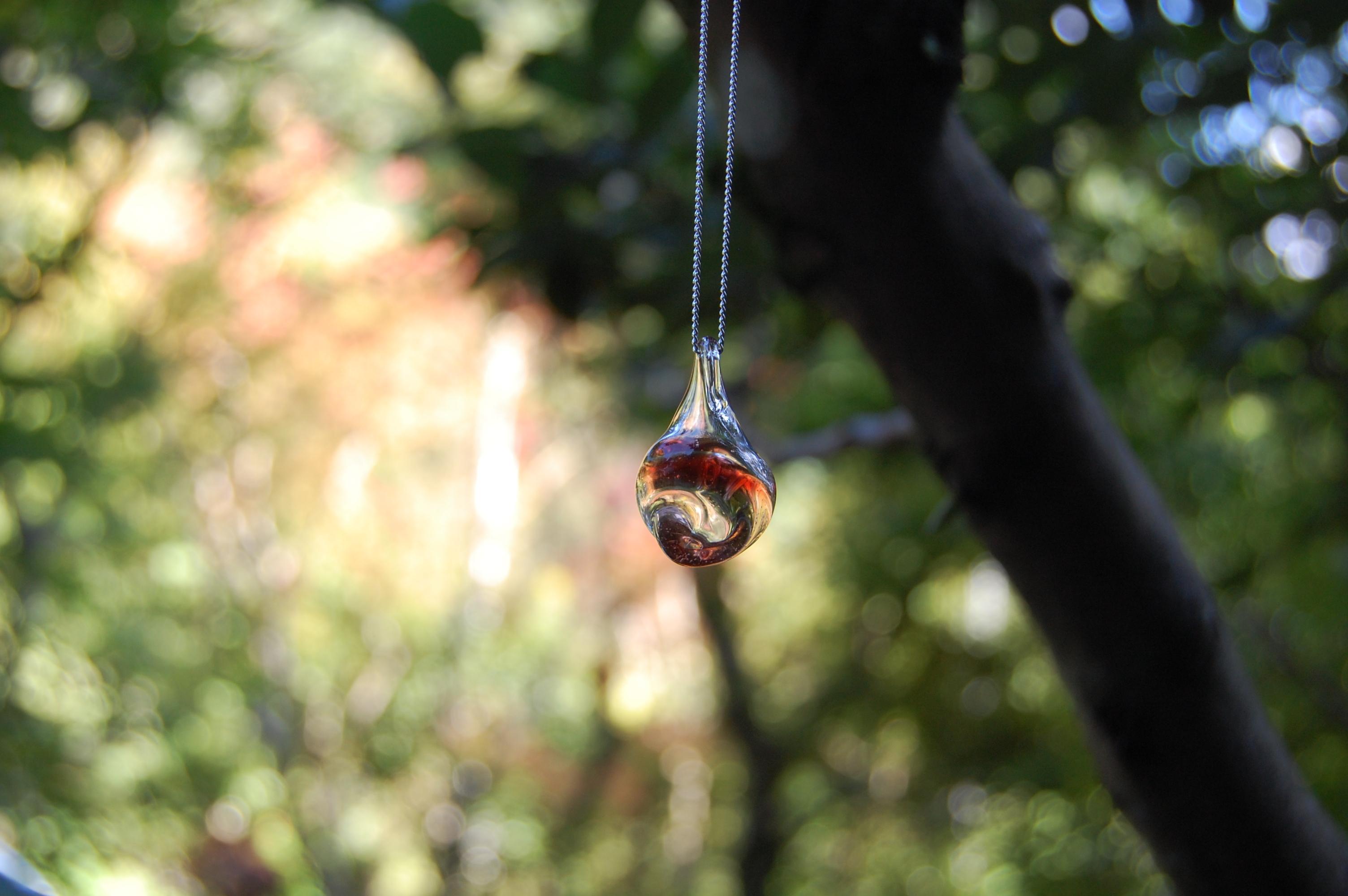 香しずく(ガラス製のアロマペンダント) 02100001
