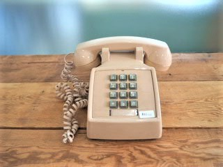 品番0606 アメリカヴィンテージ電話機 ベージュ