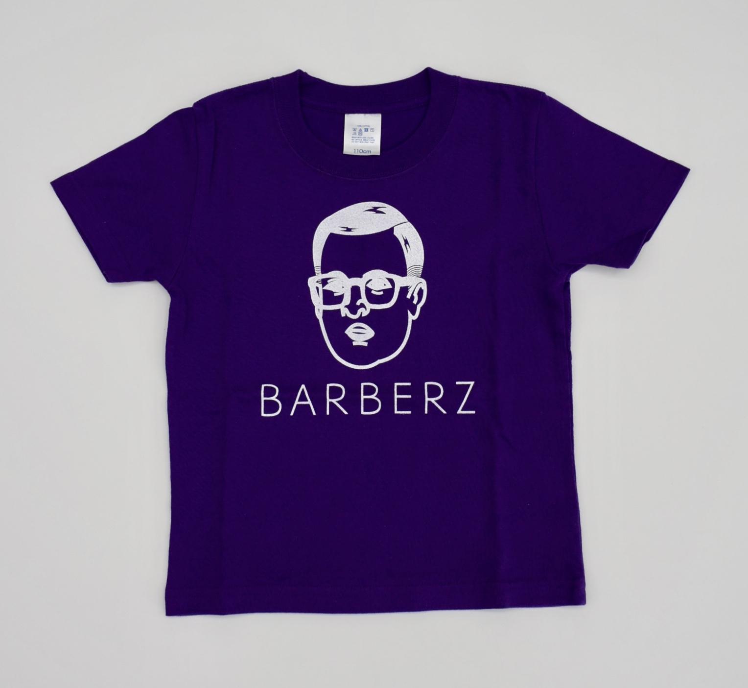 BARBERZ 刈り上げおじさんキッズTシャツ サイズ110