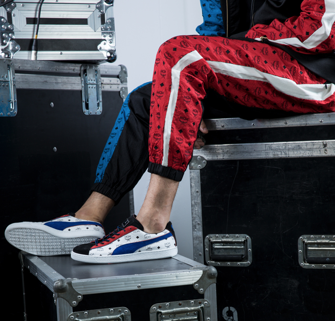 PUMA X MCM 50th Anniversary Collection TRACK PANTS