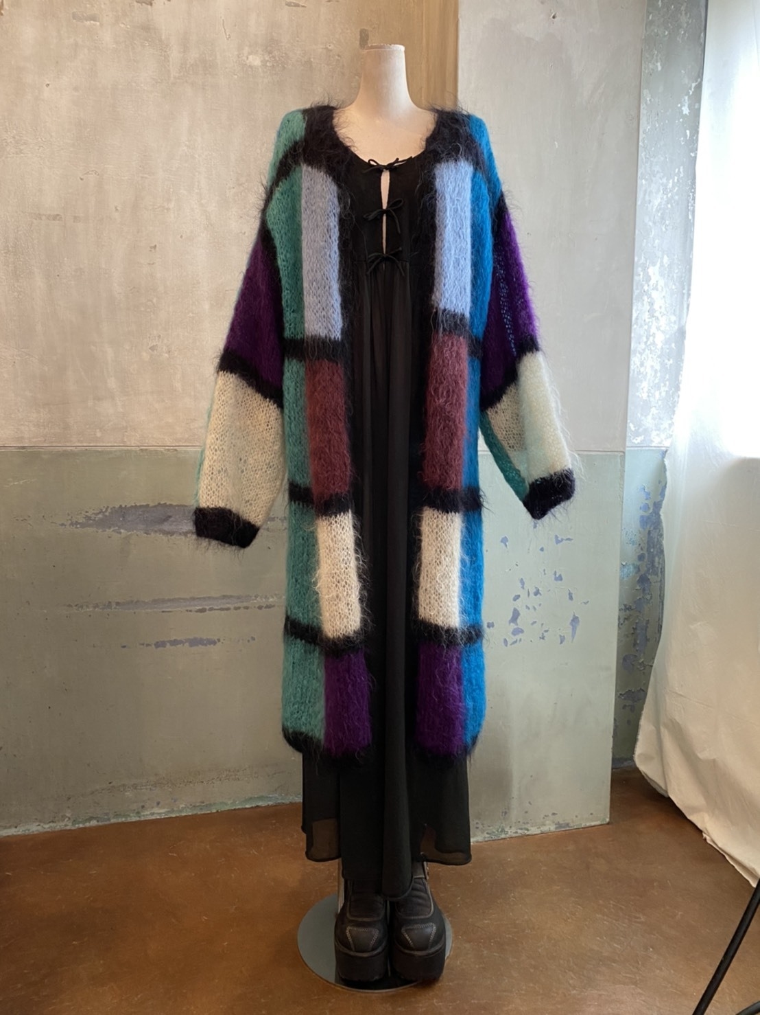 Mohair gown