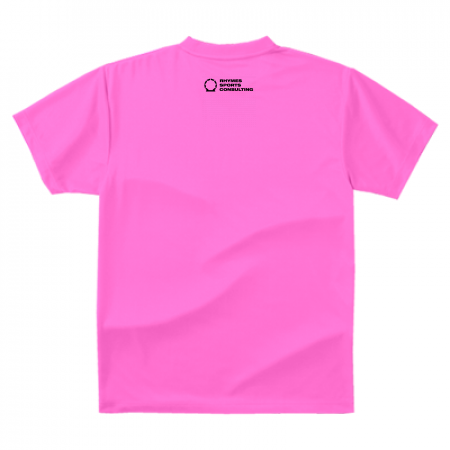 【ピンク/ブラック】SHOEHURRY! ドライTシャツ