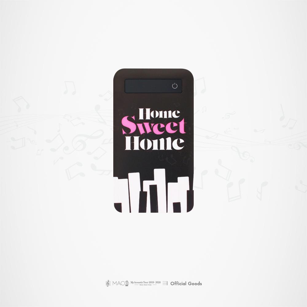 """Sweet Home"" モバイルバッテリー[ブラック]"