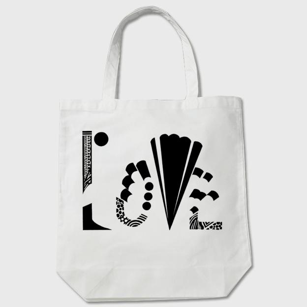【トートバッグ】LOVE