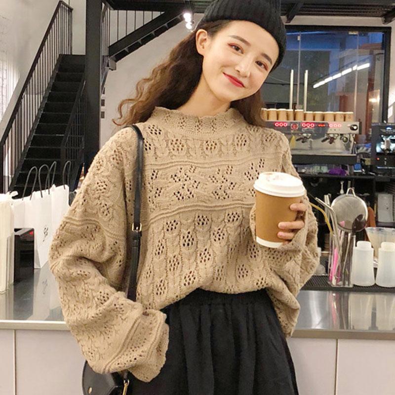 【tops】ファッション気質アッププルオーバーセーター23005821