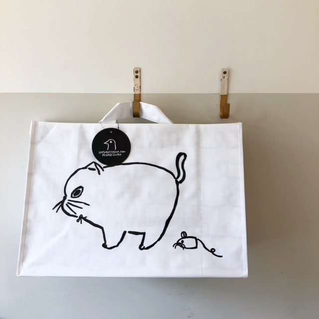山鳩舎 Yamabatosha Vinyl BAG Cat!
